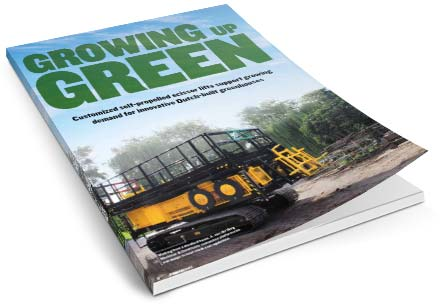 Burg Mechanisatie in Magazine Growing Green
